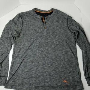 Tommy Bahama Men's Grey/Orange Pullover Medium